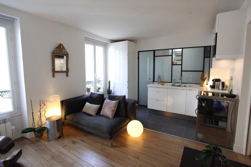 Marie claire maison reportage appartement huggy for Agencer un studio de 30m2