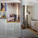 Article dans Vivre à Paris sur un appartement refait par HUGGY et Verocotrel