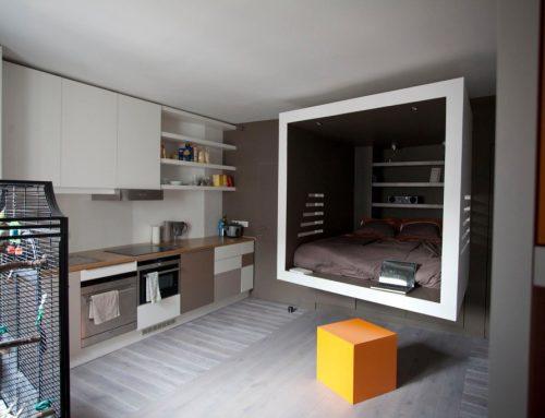 Un studio repéré par LeFigaro Immobilier