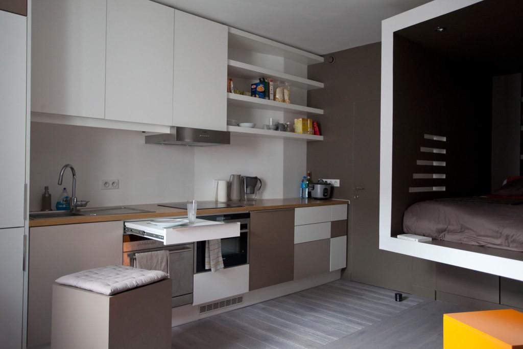 coin cuisine du studio huggy. Black Bedroom Furniture Sets. Home Design Ideas