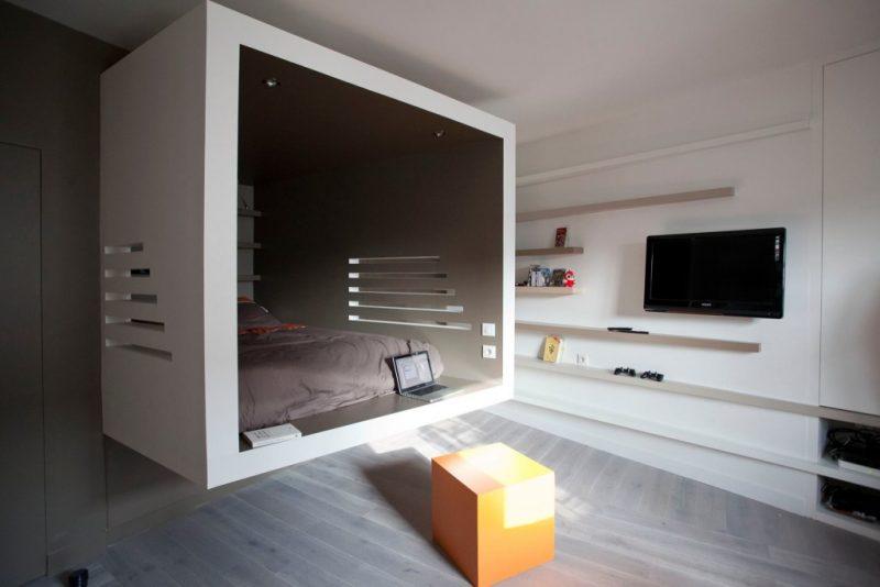 Studio rénové par Cyril Rheims
