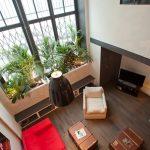 Duplex rénové : moutiez haller architecture