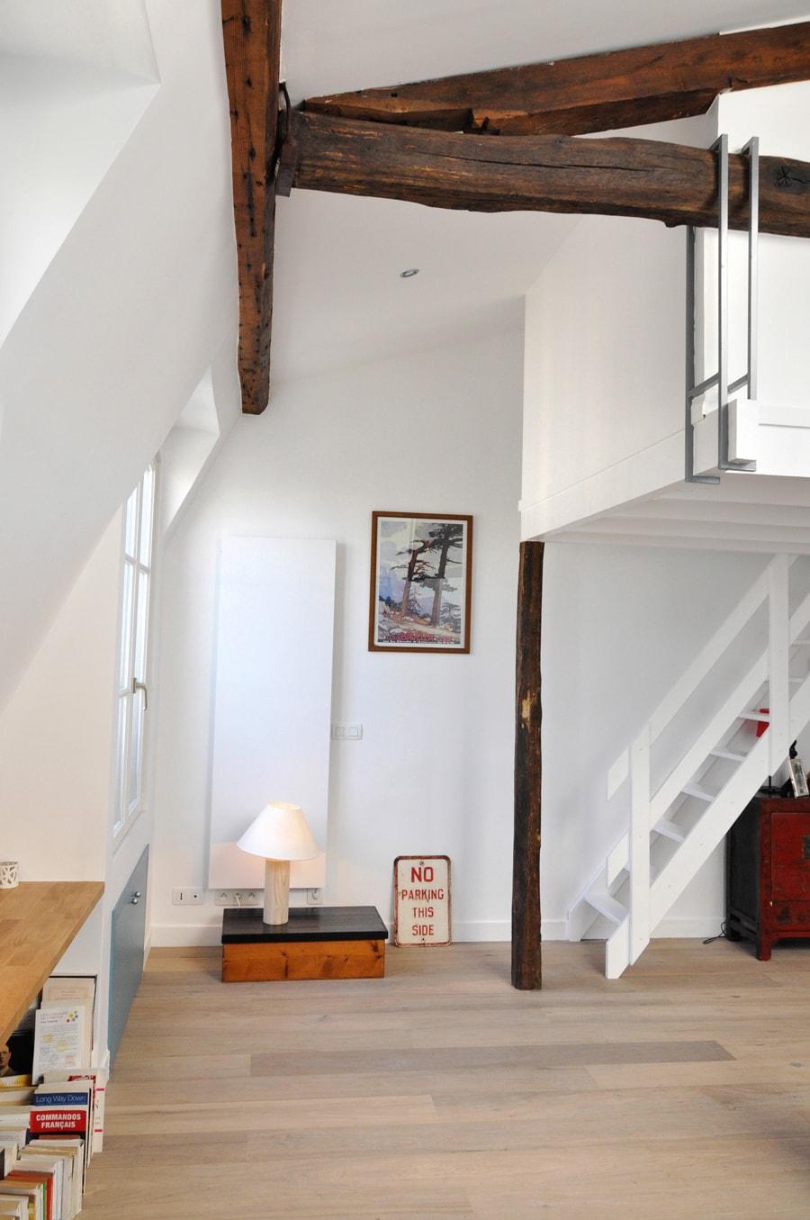 Appartement duplex rénové