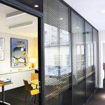 Création de bureaux vitrés, couloirs