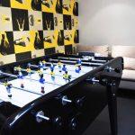 Création d'un espace détente dans les bureaux - babyfoot