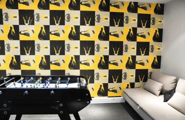 Création d'un espace détente dans les bureaux