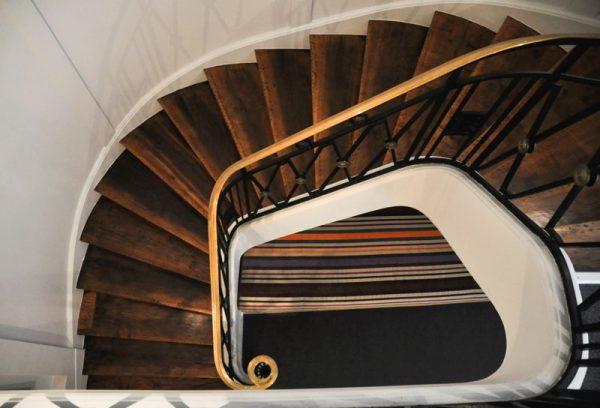 Cage d'escalier interne