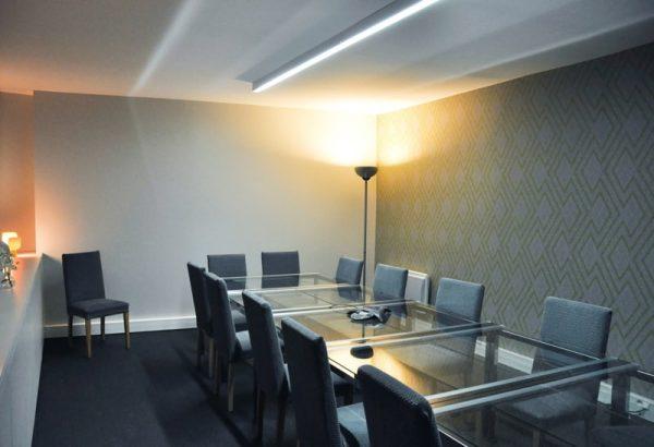 Aménagement d'une salle de réunion