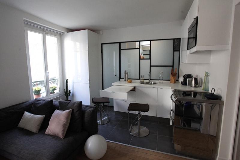 travaux de r novation d 39 un studio l 39 architecte cyril rheims. Black Bedroom Furniture Sets. Home Design Ideas