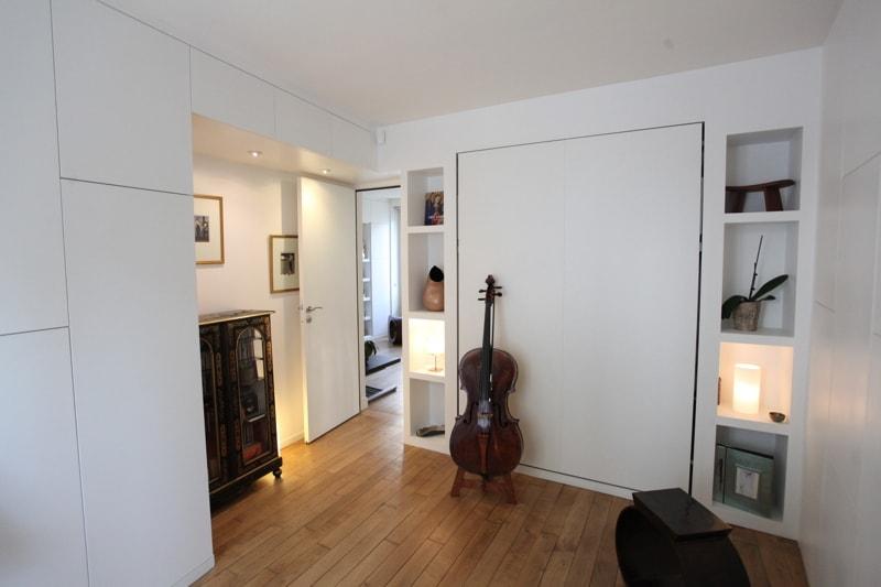 Salle de musique dans un studio