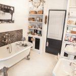 Vue d'ensemble sur la salle de bain rénovée