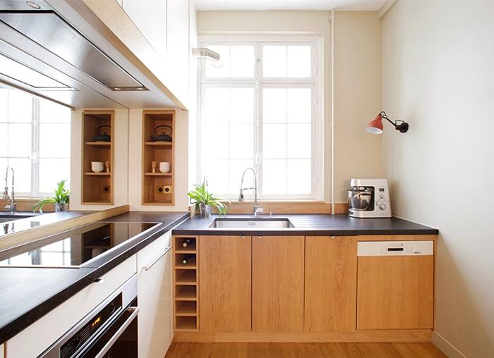 Travaux d'aménagement d'une cuisine