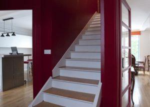 Travaux de rénovation d'une maison mitoyenne à Saint Cloud