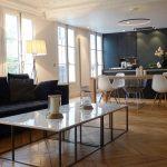 Travaux de rénovation d'un appartement Haussmannien