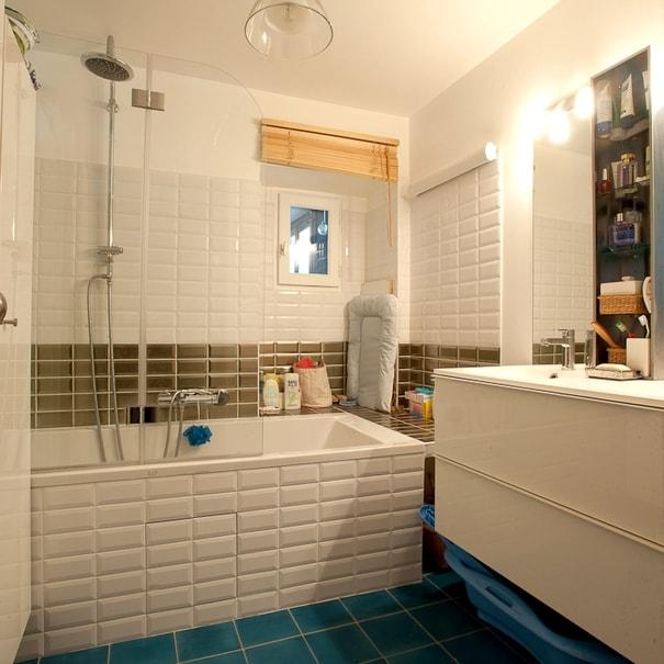 Rénovation complète de la salle de bain