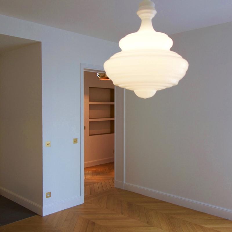 Création de niches dans l'entrée de l'appartement