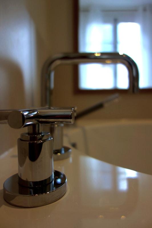 Modernisation de la robinetterie dans la cuisine