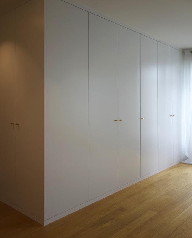 Optimisation de l'espace avec installation de nouveaux placards
