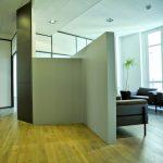 Hall d'entrée des bureaux