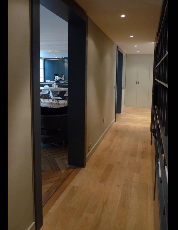 , voici une rénovation complète d'un superbe appartement ...