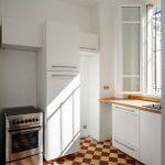 Agencement d'une cuisine sur cour intérieure