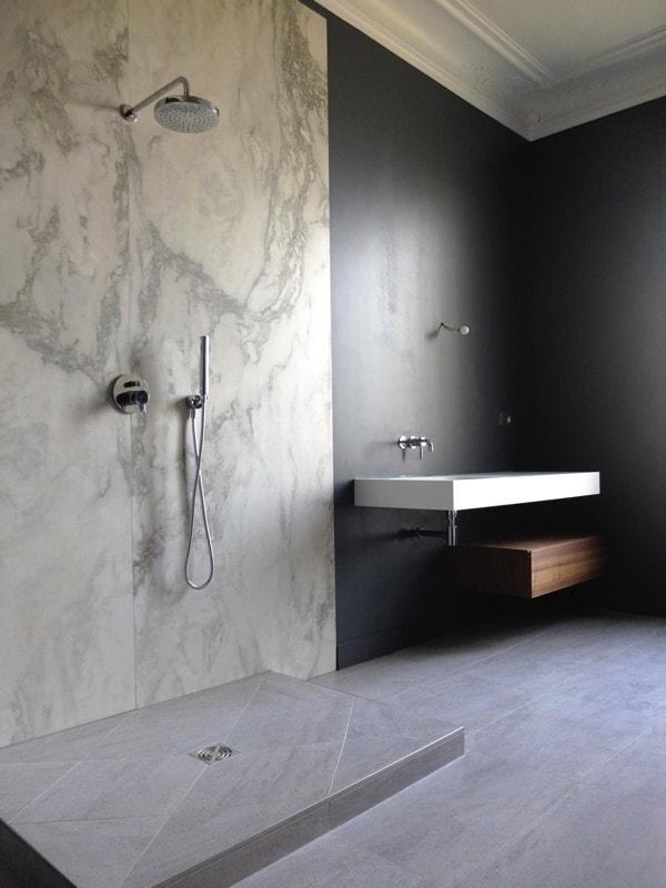 Travaux pour une salle de bain