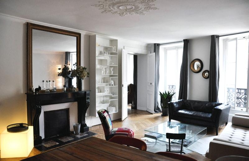 Aménagement d'un appartement haussmannien à Paris
