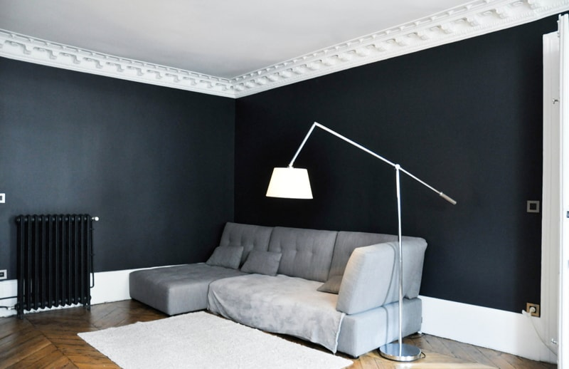 travaux de r novation pour un appartement haussmannien i alexandra malgrain. Black Bedroom Furniture Sets. Home Design Ideas