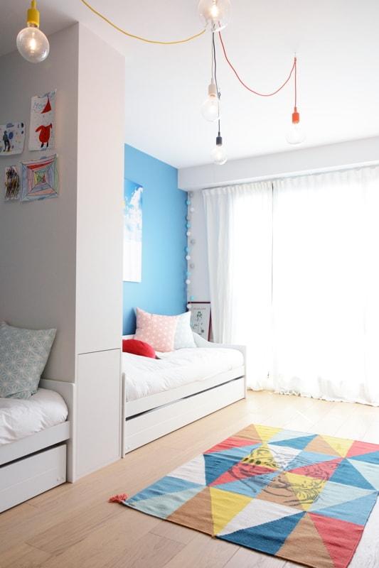 sparer une chambre en deux chambre separer une grande