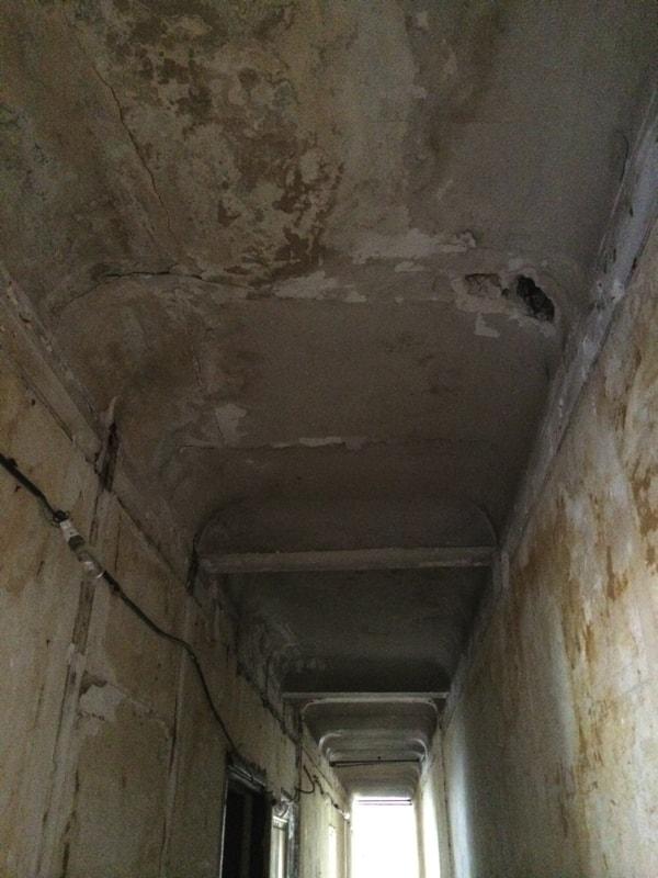 Démolition complète de l'appartement avant rénovation
