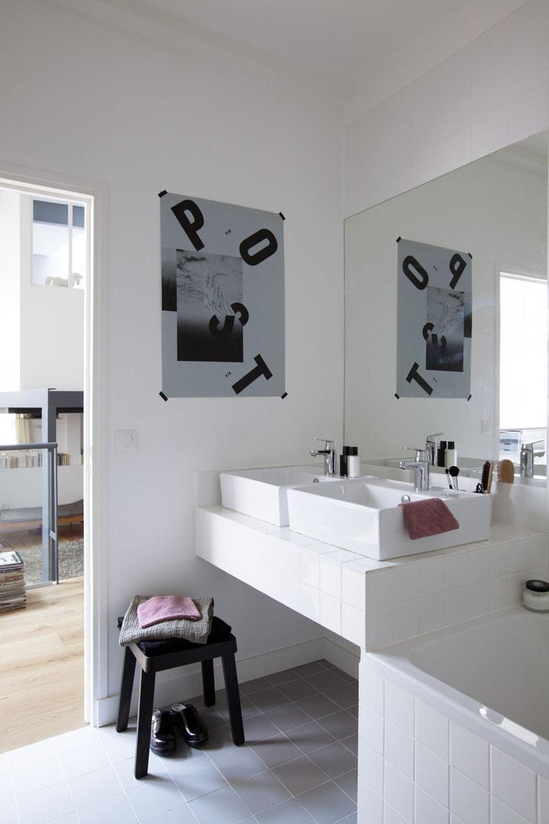 Travaux de rénovation d'une salle de bain