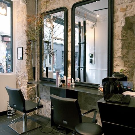 Travaux d 39 am nagement et de r novation d 39 un salon de coiffure for Travaux et renovation