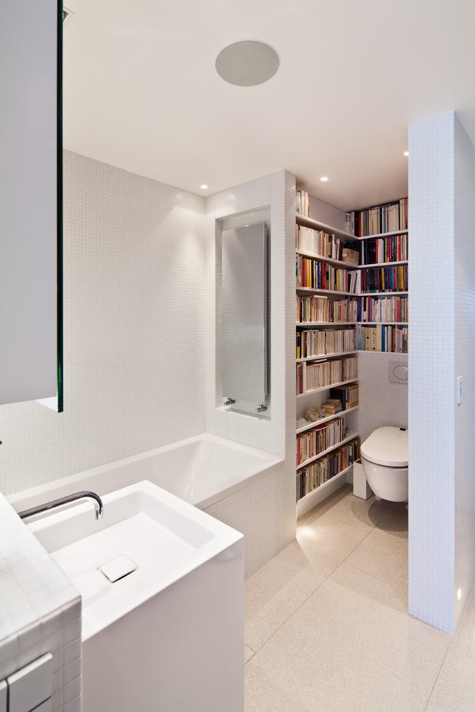 am nagement salle de bain wc mini biblioth que huggy