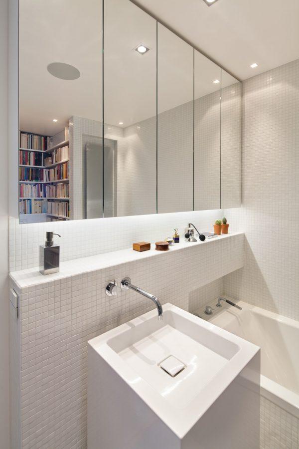 Travaux de rénovation de la salle de bain