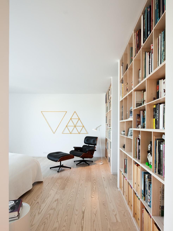 Travaux de rénovation d'une bibliothèque