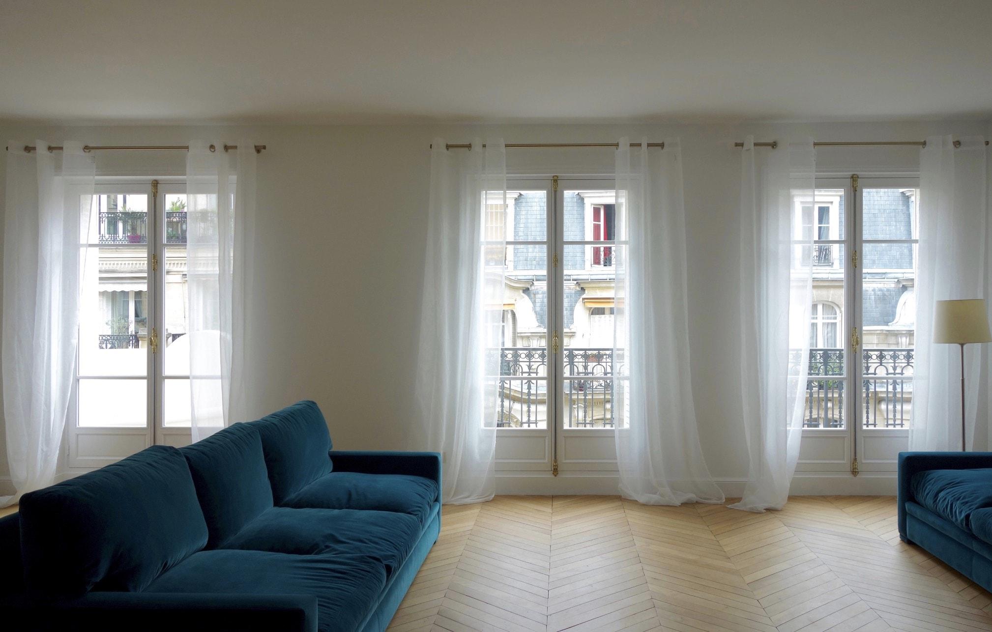 Appartement parisien entièrement refait par HUGGY