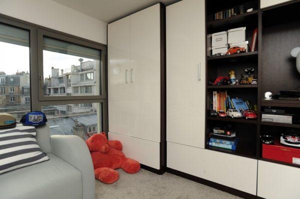 Travaux de rénovation d'un appartement esprit loft