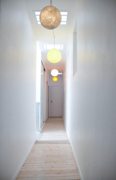 Reprise du couloir et création d'ouvertures