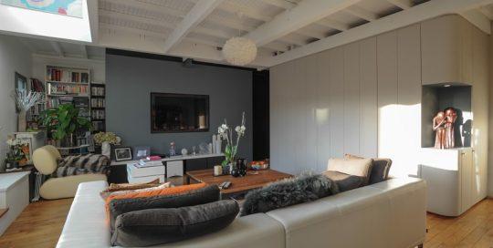 Travaux de ré-aménagement d'un appartement