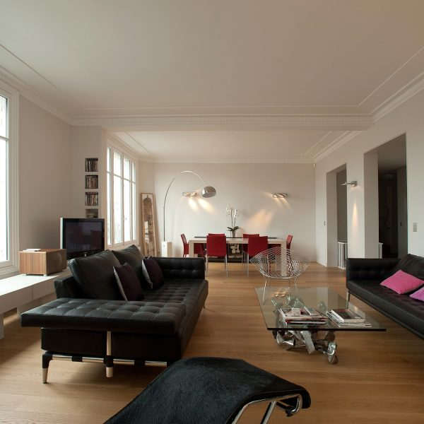 Rénovation d'un appartement de 185m2 avec FELD Architecture