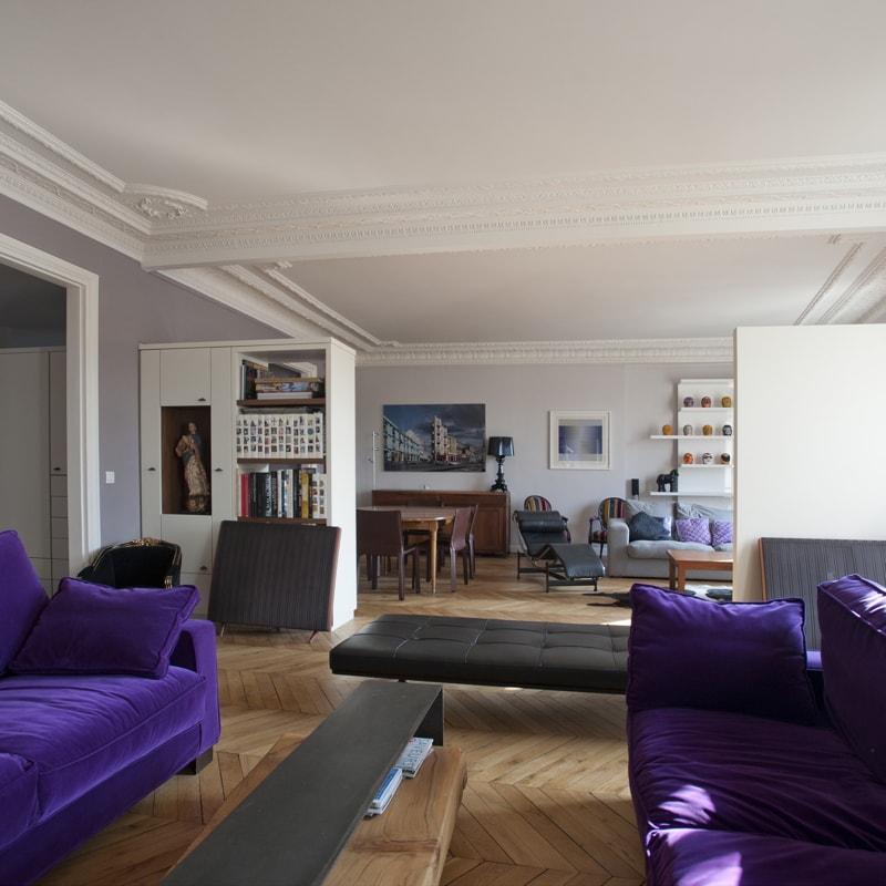 Rénovation tous corps d'état d'un appartement de 150m2