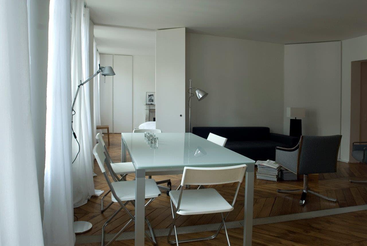 travaux de r novation d 39 un appartement de 80m2 paris. Black Bedroom Furniture Sets. Home Design Ideas