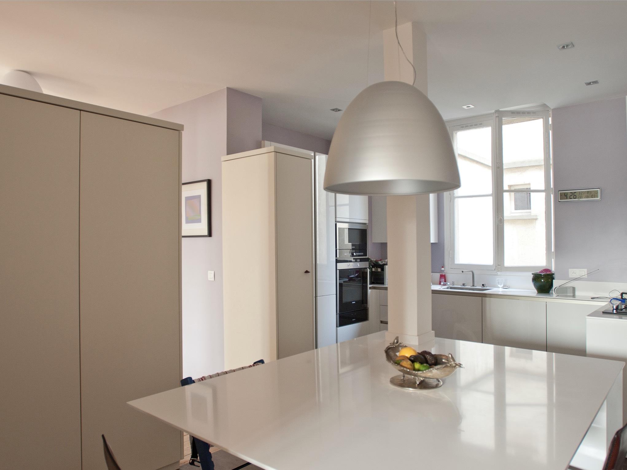 Rénovation complète d'un appartement de 150m2 avec l'architecte Thibaut de Montmarin