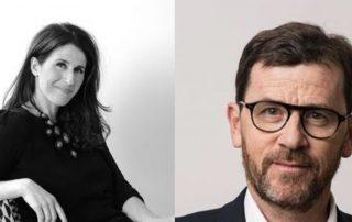 Nathalie Rives et Guillaume de Maussion