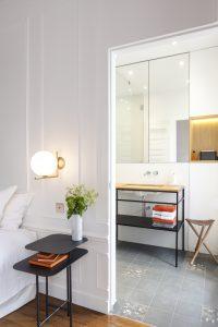 Suite et salle de bain