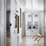 BKBS architectes ; vue traversante vers la cuisine et le séjour