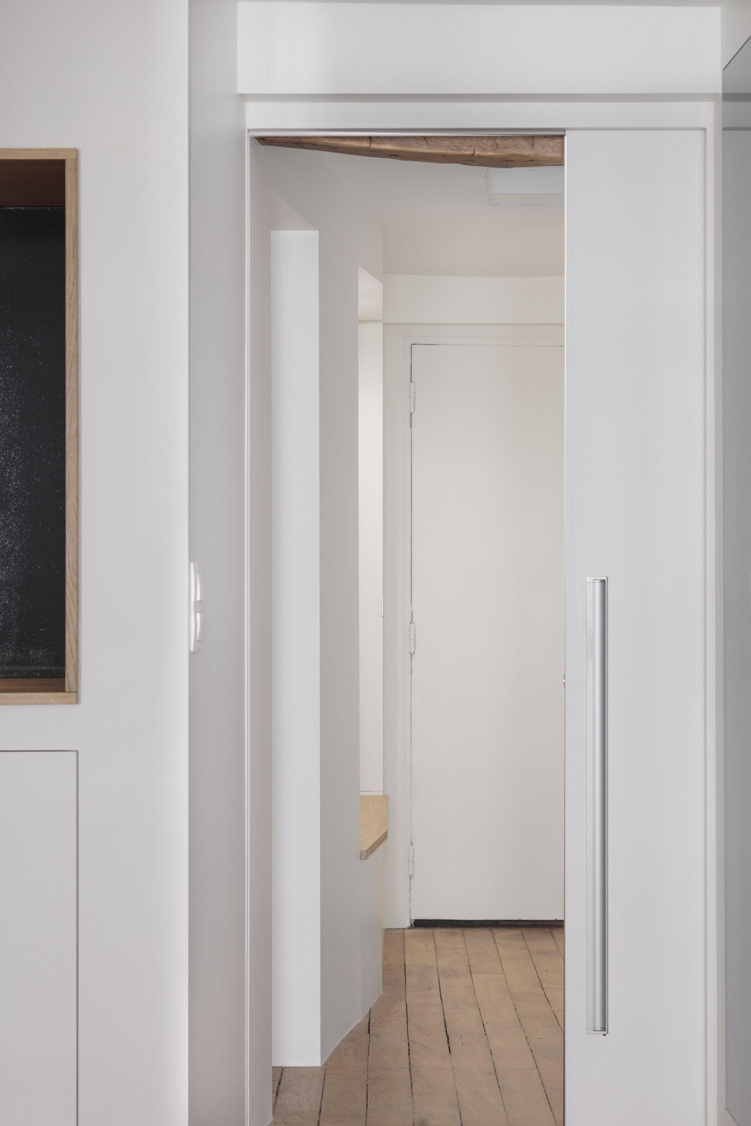 BKBS architectes ; entrée de l'appartement
