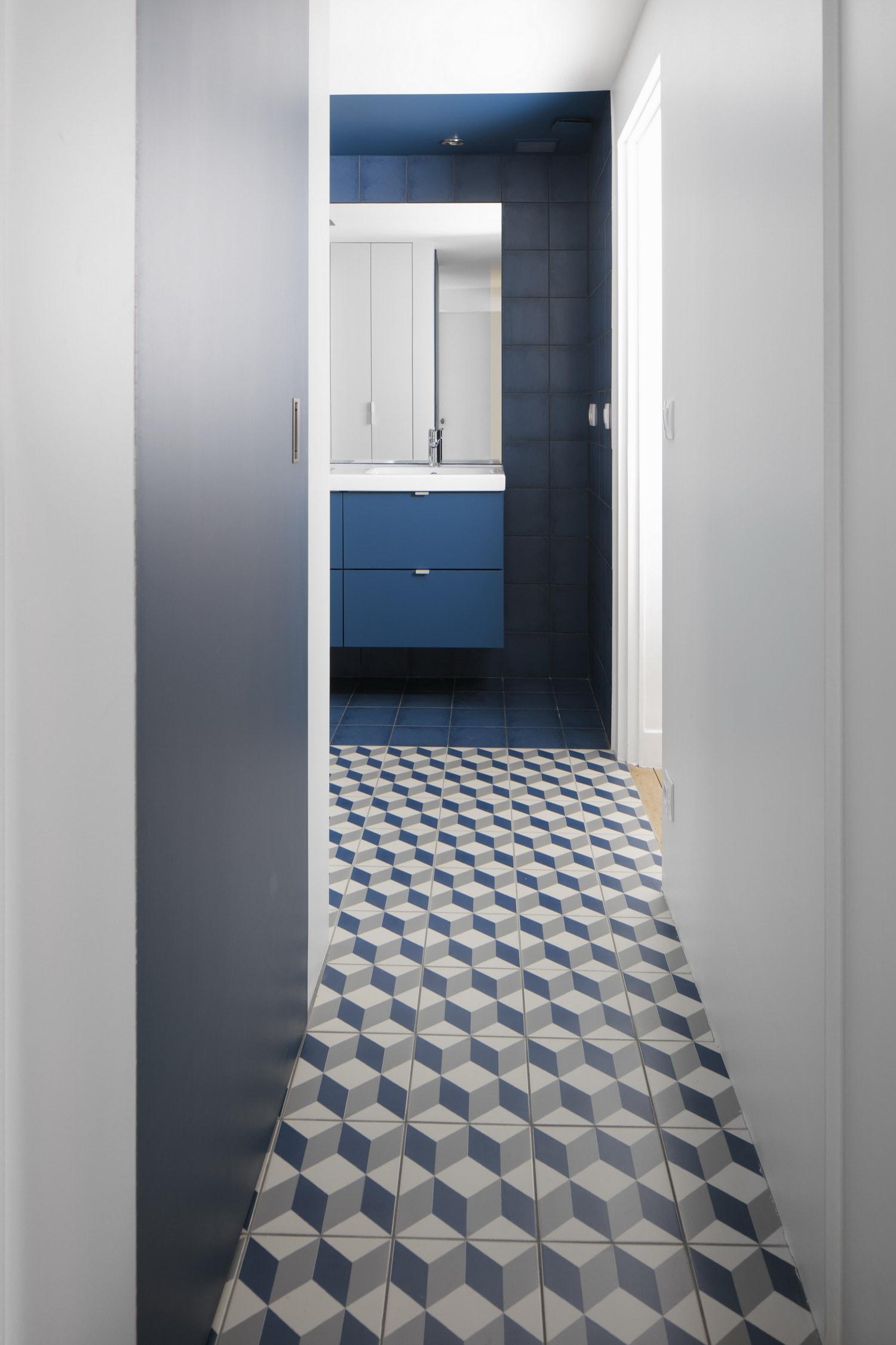 BKBS architectes ; salle de bain