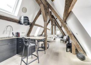 Rénovation d'un appartement Parisien sous les toits