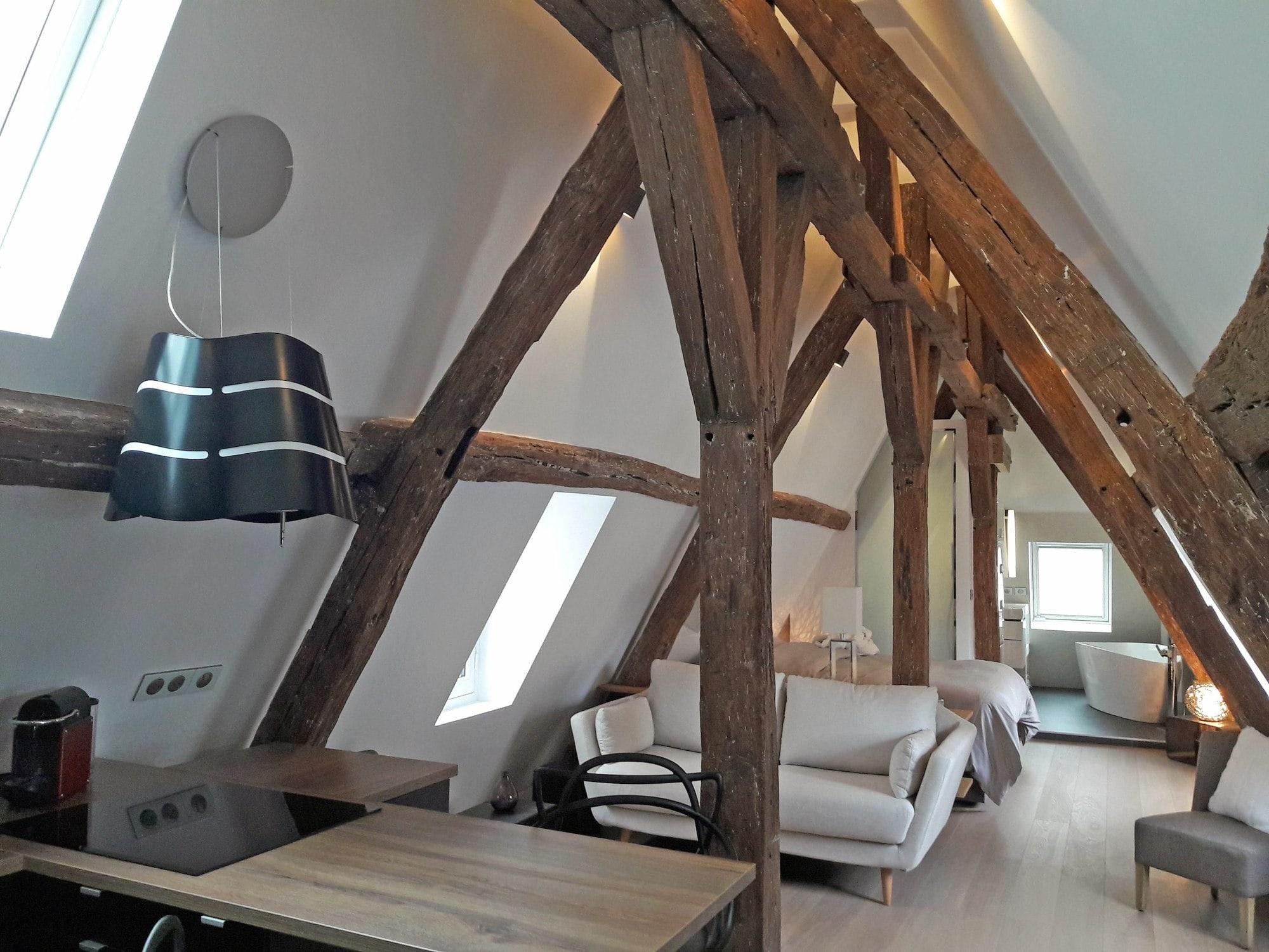 Travaux de rénovation et maitrise d'œuvre d'un appartement parisien sous les toits 8